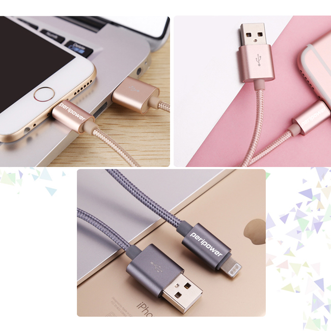 Nylon Braided Lightning to USB Cable