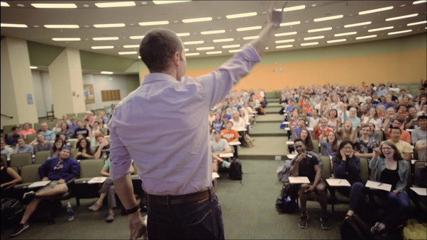 McCombs professor encourages students to do the unthinkable.