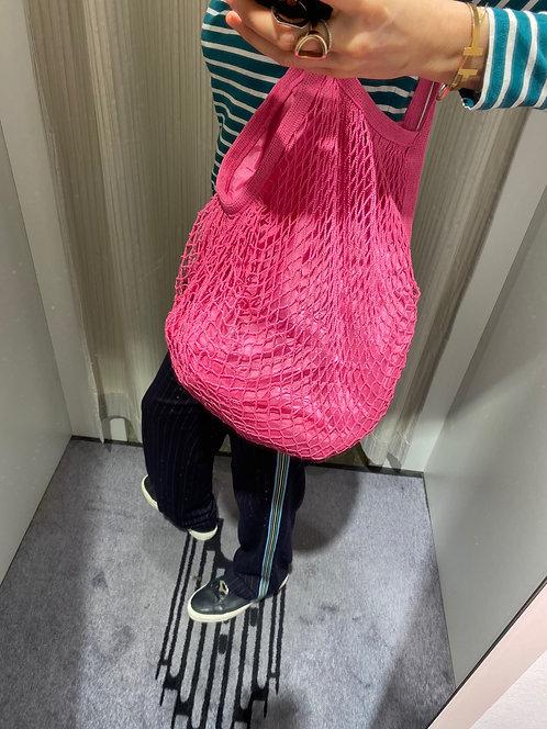 Netztasche Pink