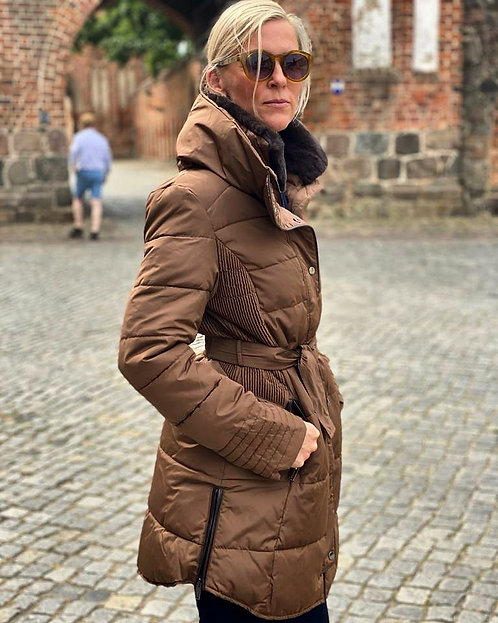Steppjacke Marone