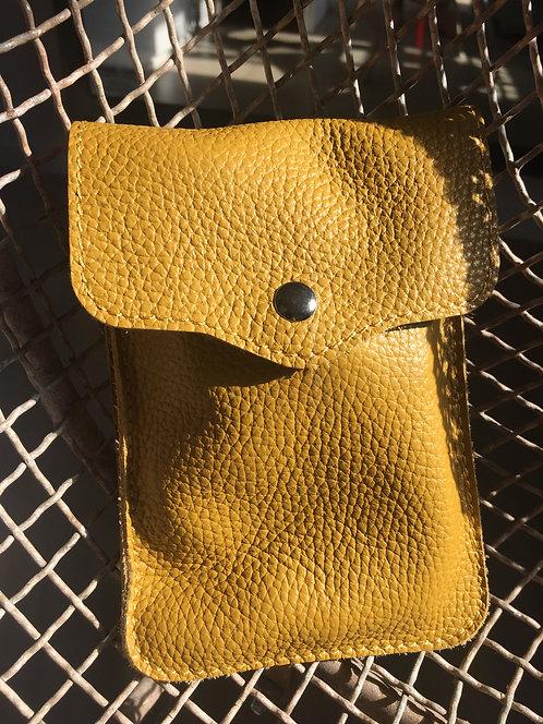 Smartphone Tasche Maisgelb