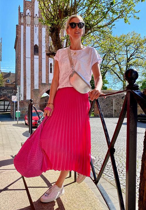 Plisseerock Pink