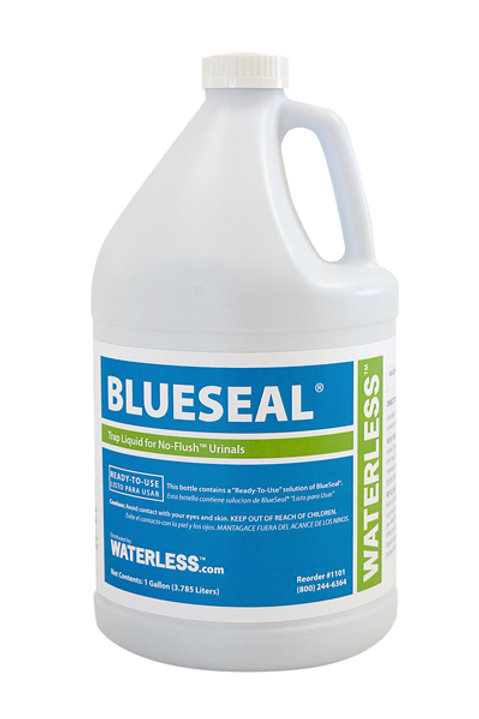 3.78litre Blue Seal waterless urinal liquid x 4