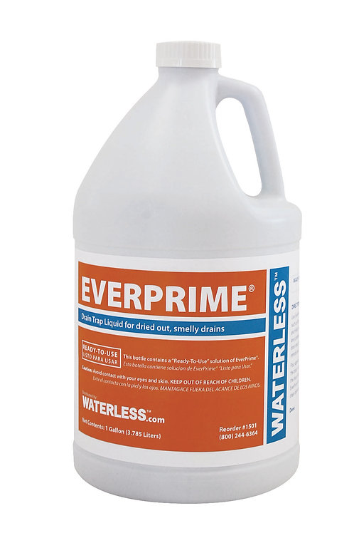 3.78ltr EverPrime Floor Drain Liquid x 1
