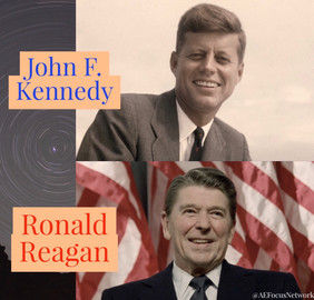 Answers: Ronald Reagan and John F. Kennedy