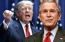 New Conservatism: George W. Bush and Trump