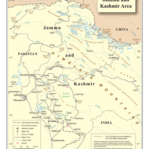 The Kashmir Issue?