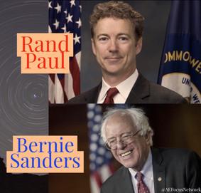 Answers: Rand Paul and Bernie Sanders