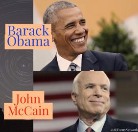 Answers: Barack Obama and John McCain