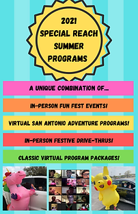 Special Reach Summer Programs General Fl