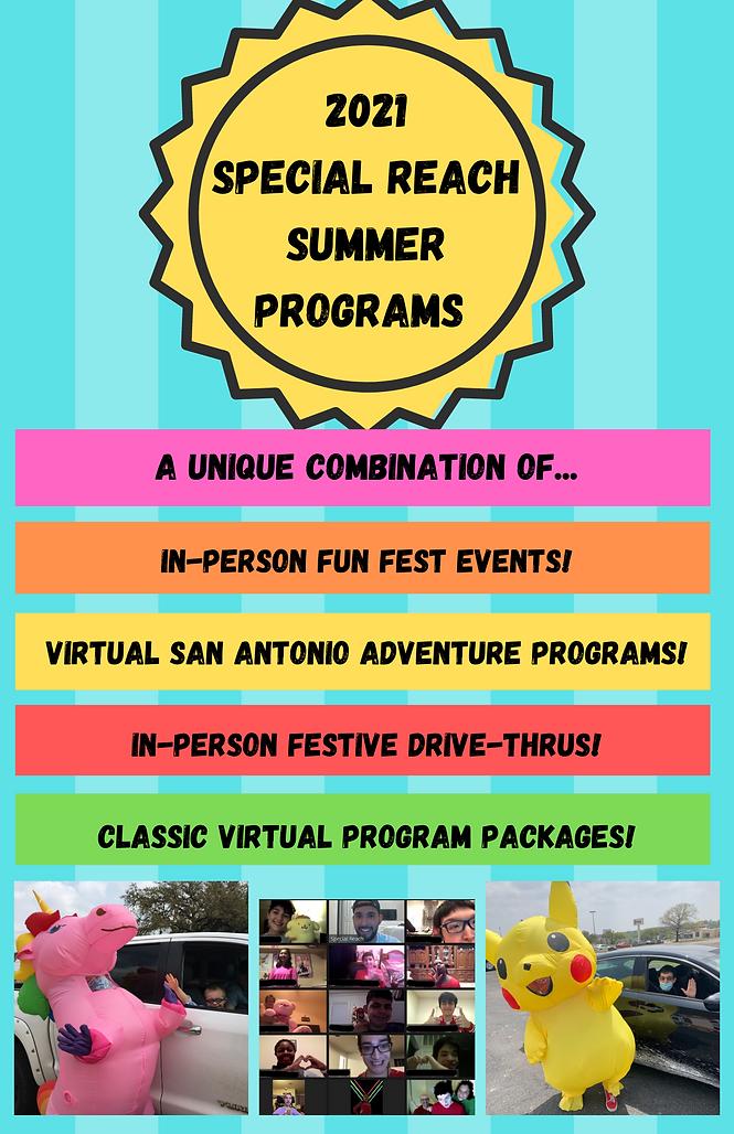 Special Reach Summer Programs General Fl
