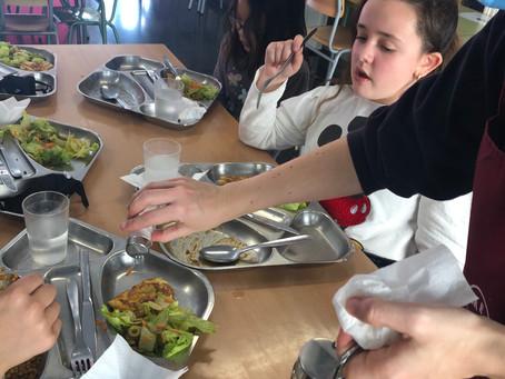 Suggeriments de menú dels alumnes de 6è.