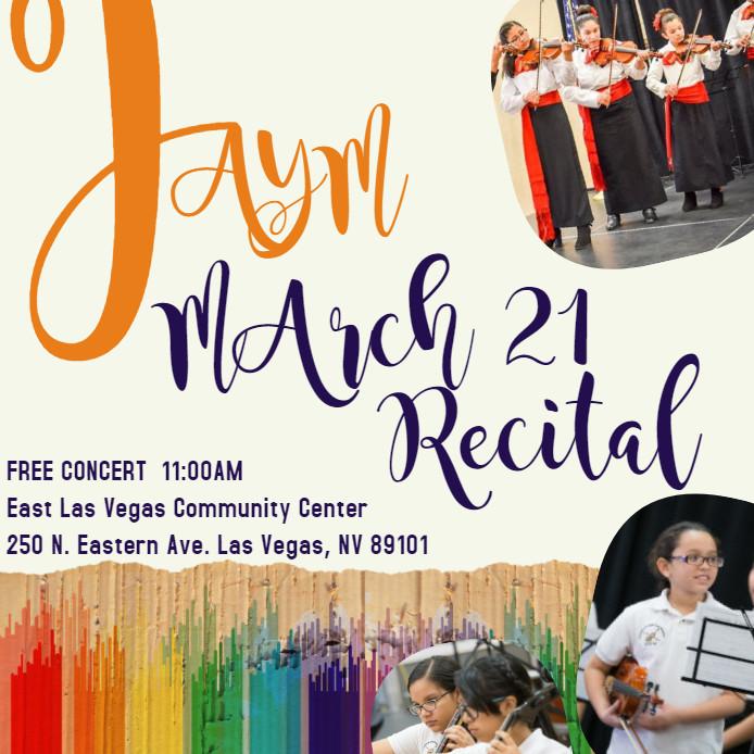 FAYM March Recital