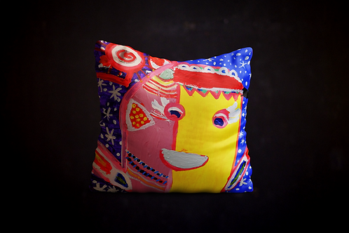 Jillian's Abstract Painting Pillow