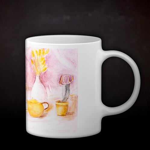 Happy's Still Life Coffee Mug