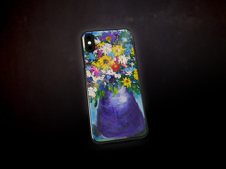 Andrea's Impressionistic Flowers Phone Case