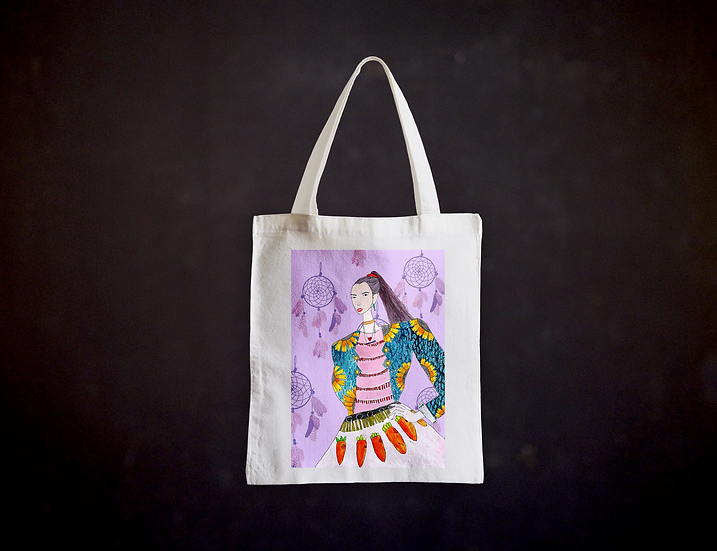 Happy's Fashion Illustration Totebag