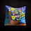 Thumbnail: Happy's Impressionistic Flowers Pillow