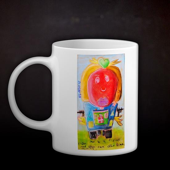 Andrea's Robot Coffee Mug