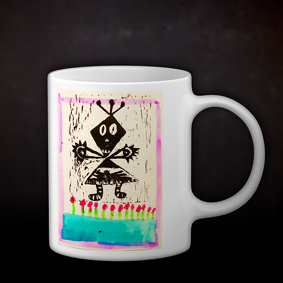 Jillian's Robot Coffee Mug