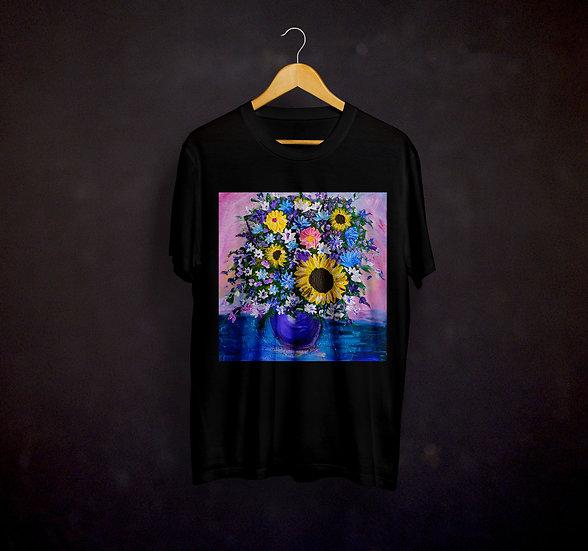 Jillian's Impressionistic Flowers T-shirt