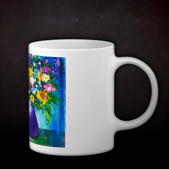 Andrea's Impressionistic Flowers Coffee Mug