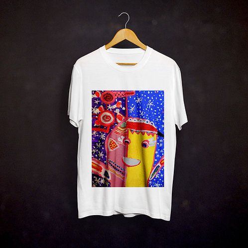 Jillian's Abstract Painting T-shirt