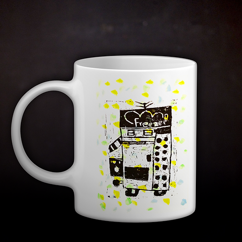 Happy's Robot Coffee Mug