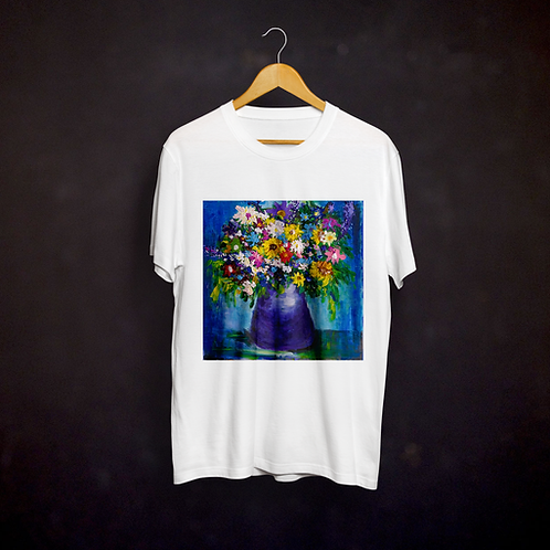 Andrea's Impressionistic Flowers T-shirt