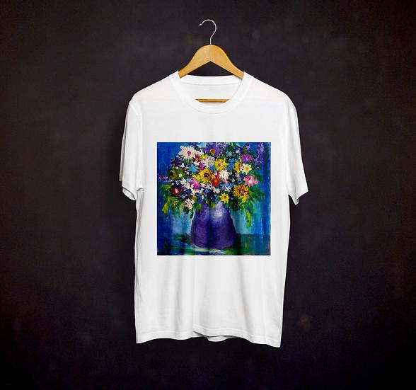 Andrea's Impressionistic Flowers T-shirt