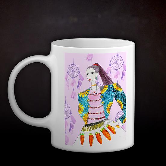 Happy's Fashion Illustration Coffee Mug