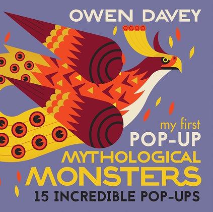 My First Pop Up Mythological Monsters by Owen Davey