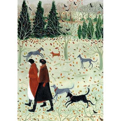 Joyful Dogs Card