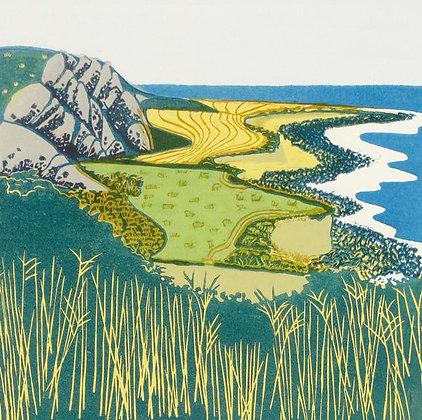 Coastal Cliffs Card