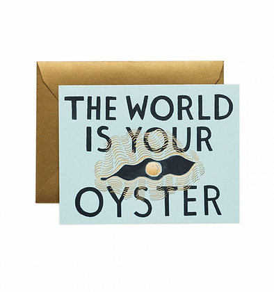 World Your Oyster Card
