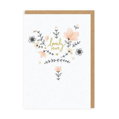 Lovely Mum Card