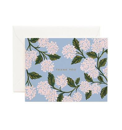 Thank You Hydrangea Card