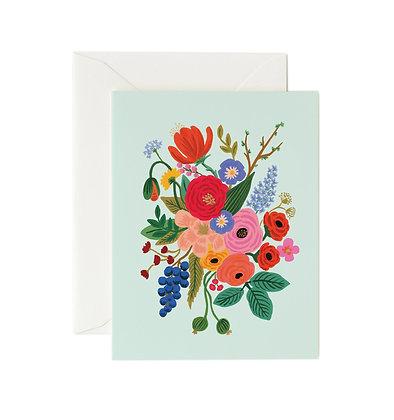 Garden Party Mint Card