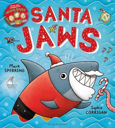 Santa Jaws by Mark Sperring