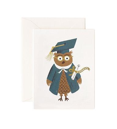 Owl Congrats Card