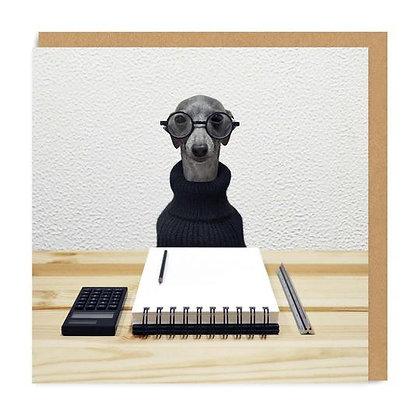 Office Dog Card