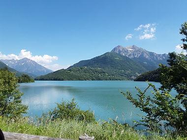 Le lac du Sautet