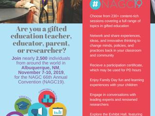 NAGC Convention November 2019