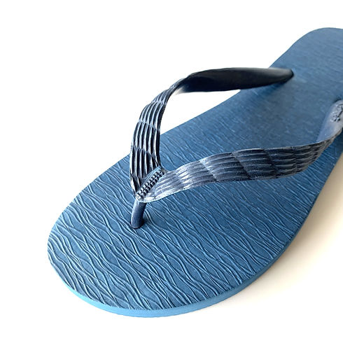 外国のビーチサンダルとは異なる日本特有のビーチサンダルの模様