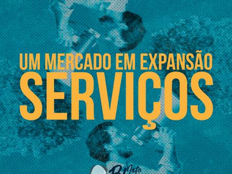 Serviços, uma indústria grande em expansão