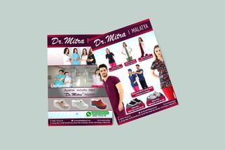 dr. mitra A4 broşür tasarımı