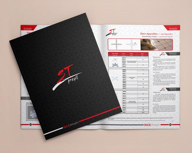 st profil katalok tasarımı