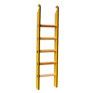 Benny Renkli Ahşap Muhabbet Kuşu Merdiveni 24cm