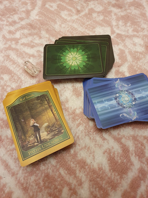 Personal card reading