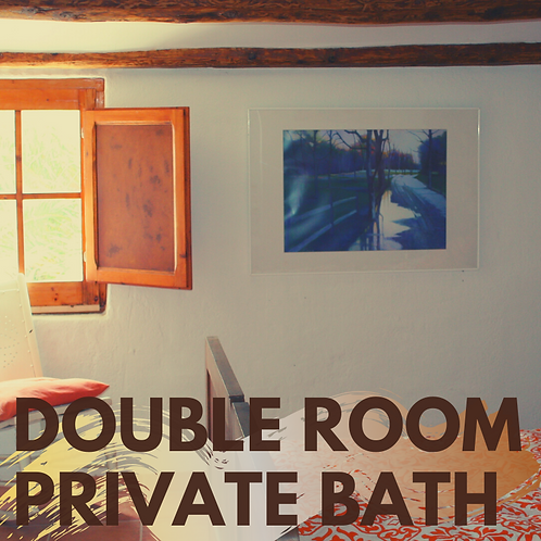 One night Double room ensuite